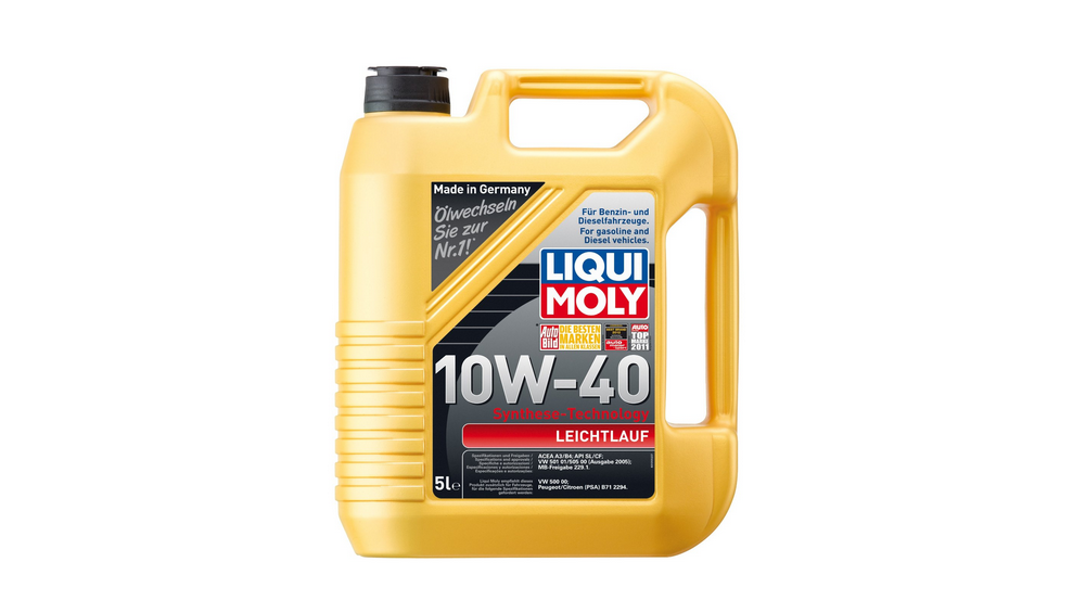 liqui moly 1310 leichtlauf motor l 10 w 40 5 liter. Black Bedroom Furniture Sets. Home Design Ideas