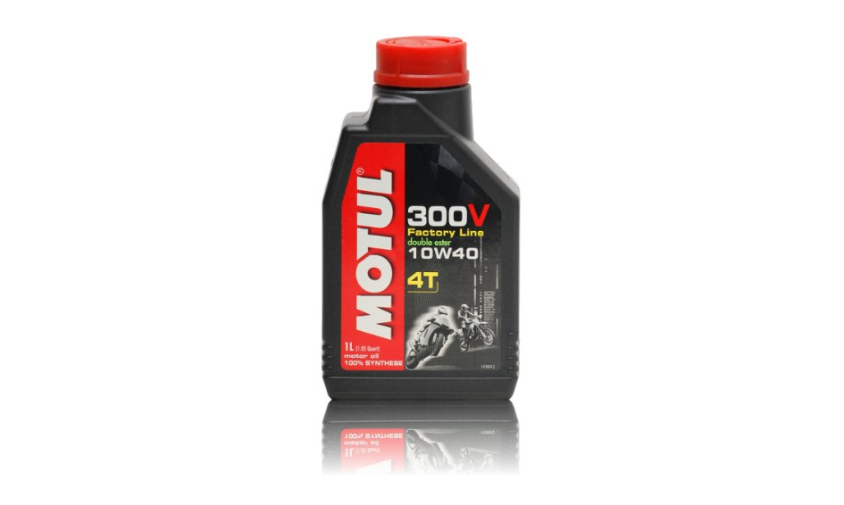 motor l motul 4t 300v 10w 40 1 liter motor l im test. Black Bedroom Furniture Sets. Home Design Ideas